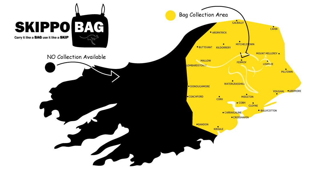 Skip Bags Cork collection areas Skip Bag Collection Areas